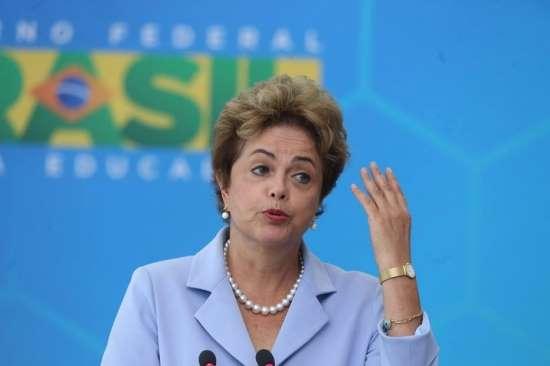 © Fornecido por Estadão Dilma Rousseff lamentou o aumento das tarifas de energia elétrica