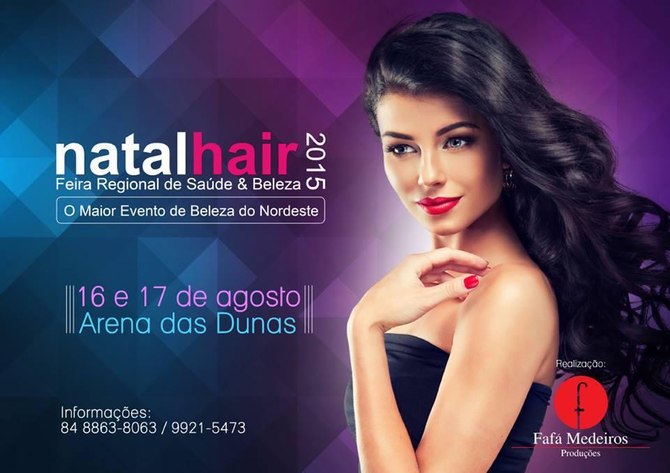 Cartaz Natal Hair 2015