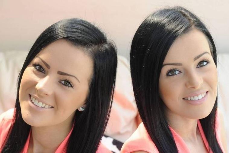 Foto: Gêmeas Laura e Anna Perry