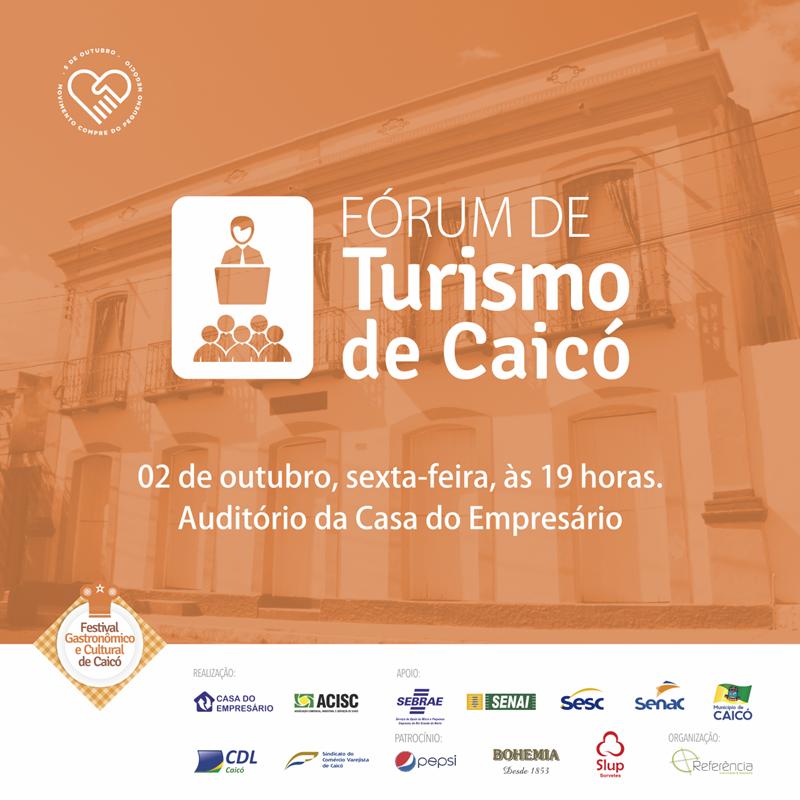 Fórum de Turismo de Caicó - 2015
