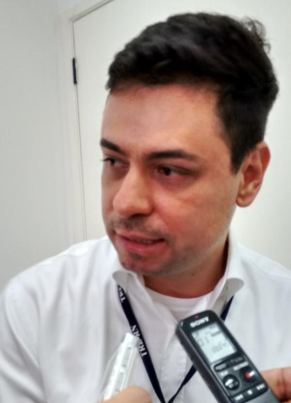 Paulo André é chefe do Cartório Eleitoral de Caicó – (FOTO: Sidney Silva)