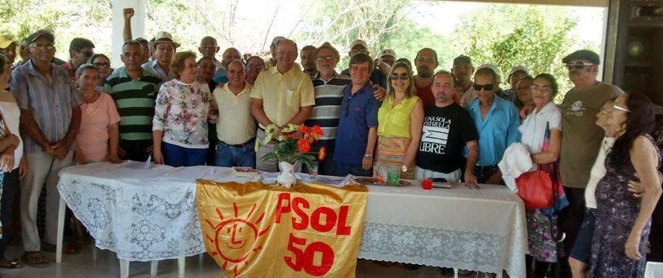 reunião do psol em Janduís