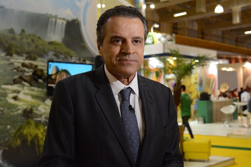 22 de abril de 2015 - Ministro do Turismo Henrique Eduardo Alves participa da abertura da World Travel Makert Latin American. Foto: Thamyres Ferreira/MTur