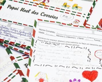Cartas Natal Correios