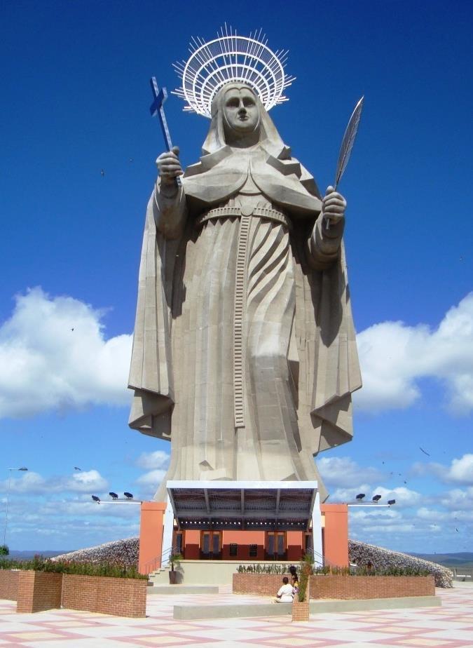 Santuário de Santa Rita de Cássia em Santa Cruz-RN