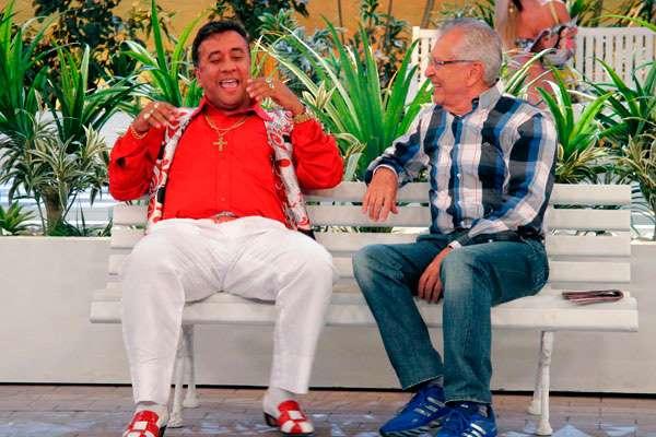© Foto: Divulgação/SBT O comediante ficou sob poder dos assaltantes e foi liberado às margens da Via Dutra.