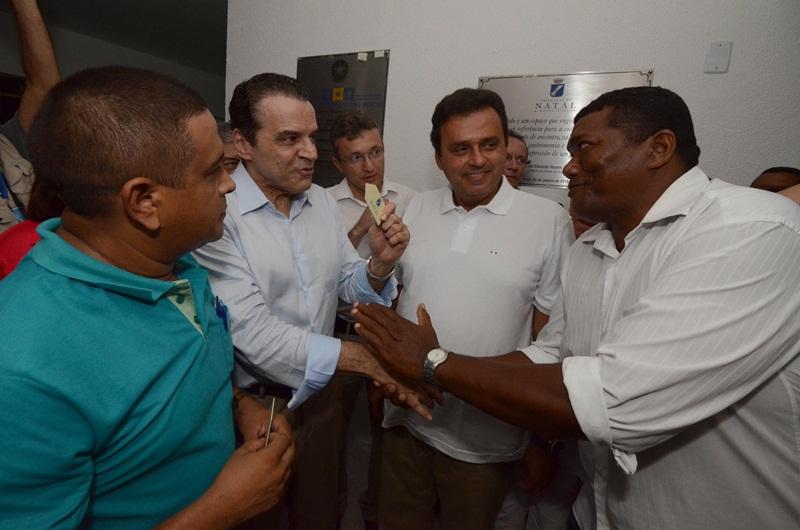 05-01-16 - INAUGURAÇÃO DO MERCADO DAS ROCAS FOTO/ADRIANO ABREU/H/SELECIONADAS