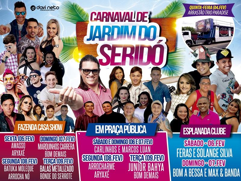 Programação oficial do Carnaval 2016