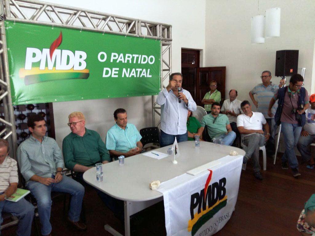ENCONTRO DO PMDB EM NATAL 270216
