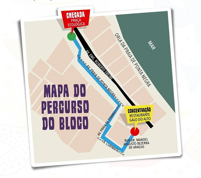 MAPA DO PERCURSO