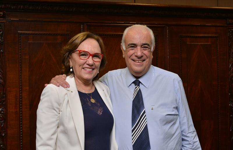 Dep. Zenaide Maia e o ministro Antônio Carlos
