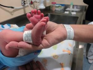 Bebe e mae