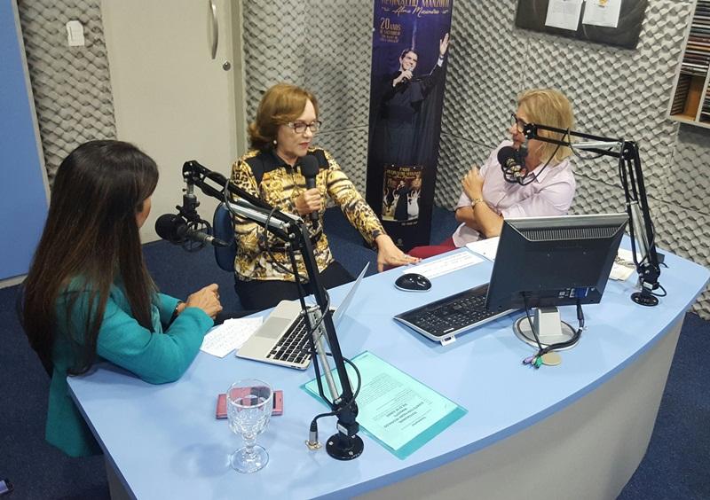 entrevista rádio