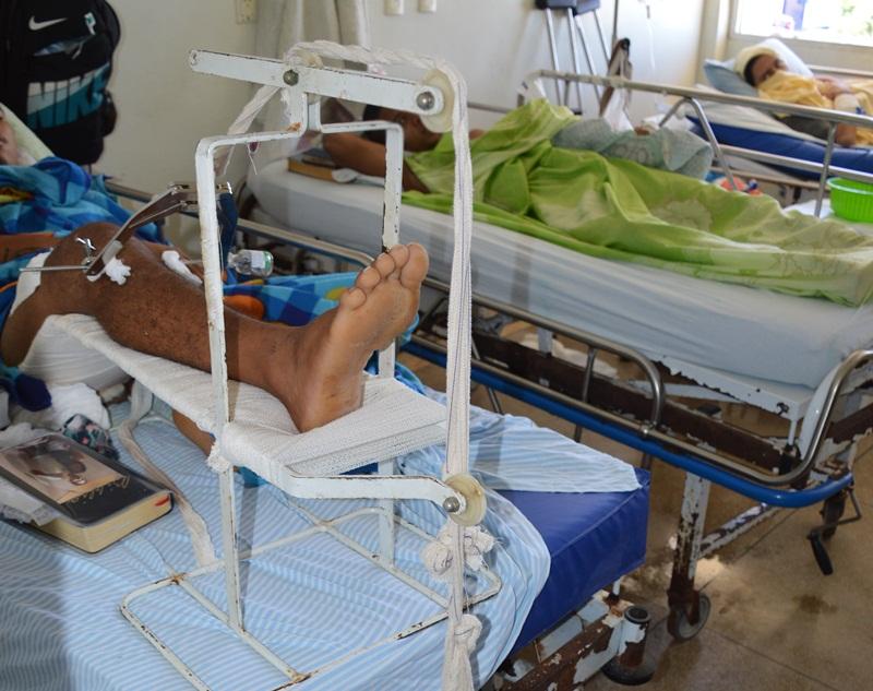 Presos aguardam cirurgia no Walfredo Gurgel