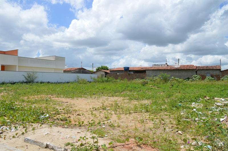 Terreno doado pela Prefeitura de Nova Cruz à Defensoria Pública