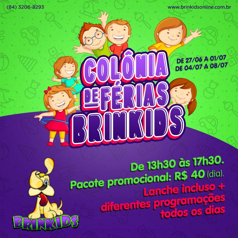 Brinkids - Colônia de Férias