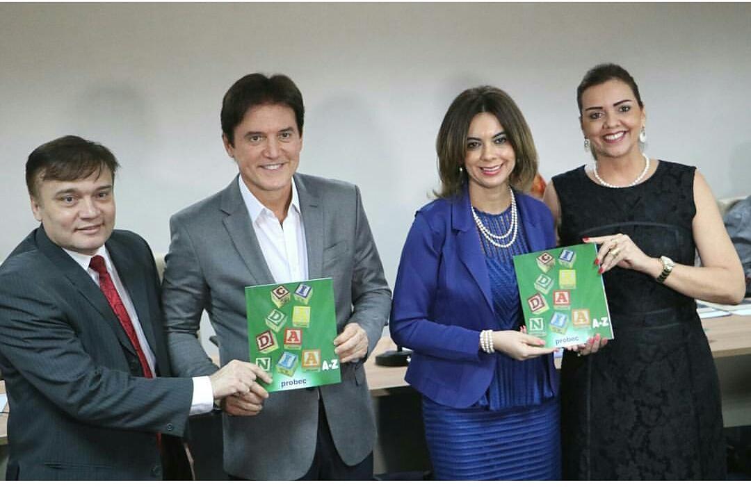 Jarbas Bezera, Robinson Faria, Cláudia Santa Rosa e Lígia Limeira