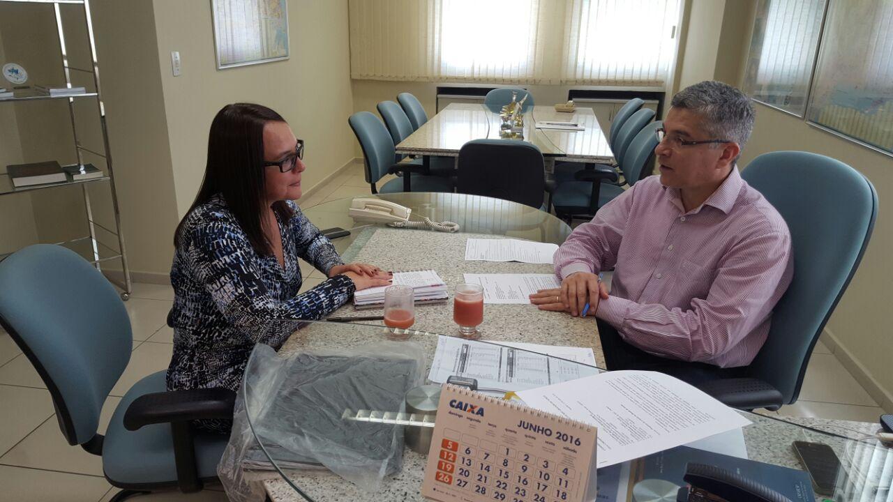 Suerda Menezes - Presidente do COREN RN e Dr. Marcos Lima de Freitas - Presidente do CREMERN.