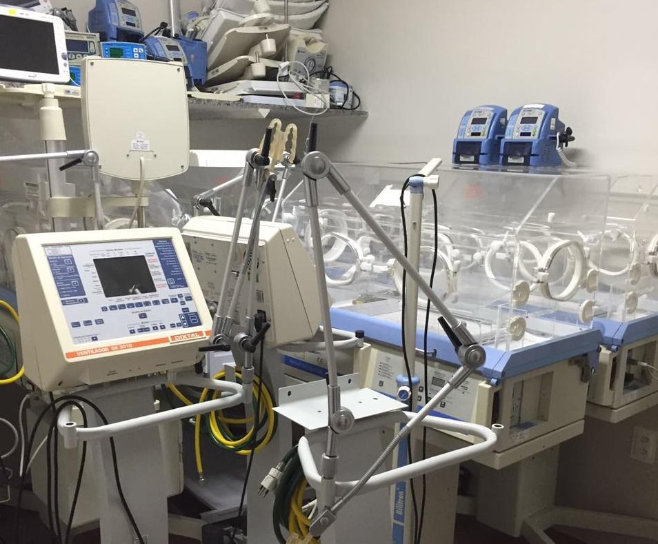 Equipamentos de UTI Neonatal quebrados_Hospital da Mulher Mossoró_Defensoria Pública