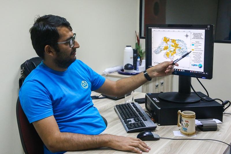 Foto: Wallacy Medeiros - De acordo com Jhonathan Lima, membro do Grupo de Pesquisa em Dinâmicas Ambientais, Risco e Ordenamento do Território (Georisco), apesar da seca ser um fenômeno natural é preciso realizar mecanismos de gestão hídrica para minimizar os efeitos da escassez