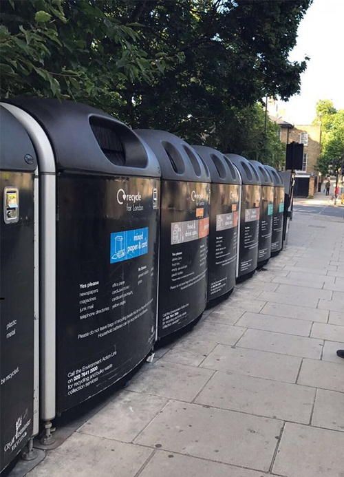 Programa Recycle for London é exemplo do que pode ser feito para incentivar a população a reciclar.  Divulgação