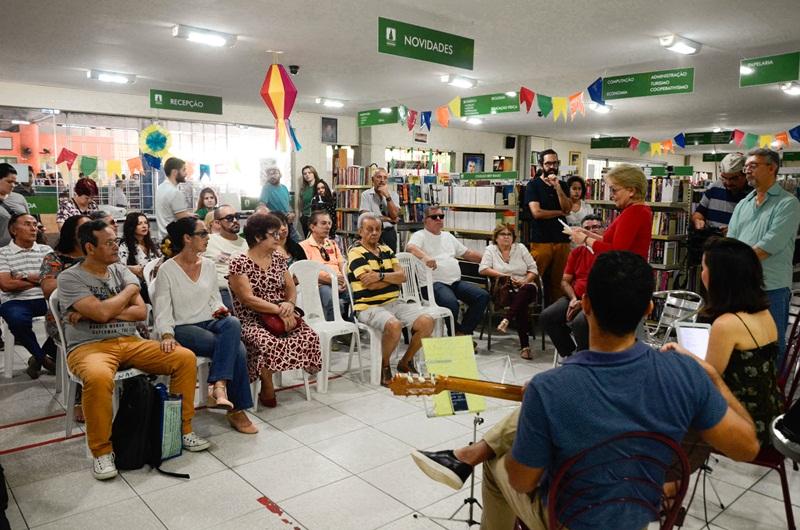 Presente na agenda cultural da Cooperativa há sete anos, Música na Livraria é um dos principais projetos em atuação