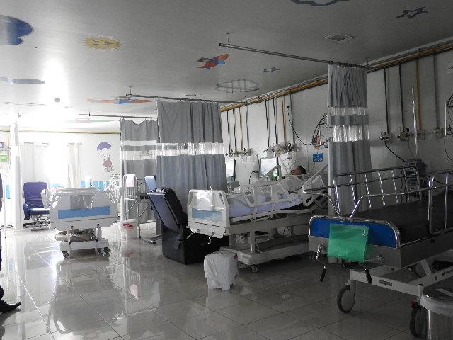 Leitos no Hospital Wilson Rosado