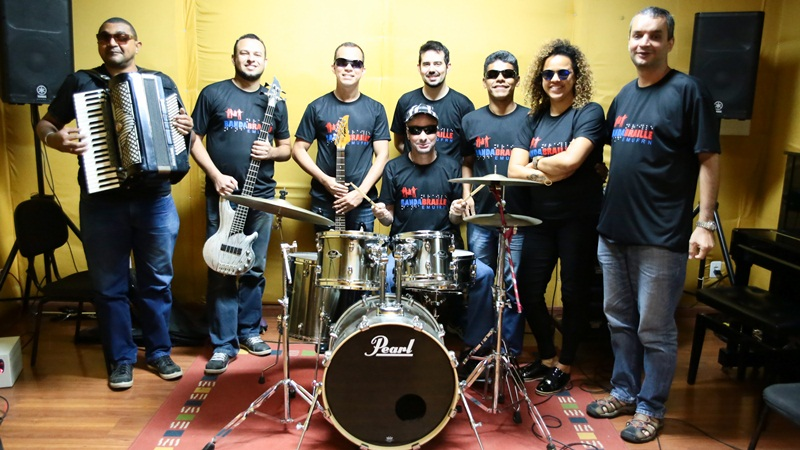 Banda Braille Ponto Positivo é um projeto de extensão universitária da Escola de Música da Universidade Federal do Rio Grande do Norte