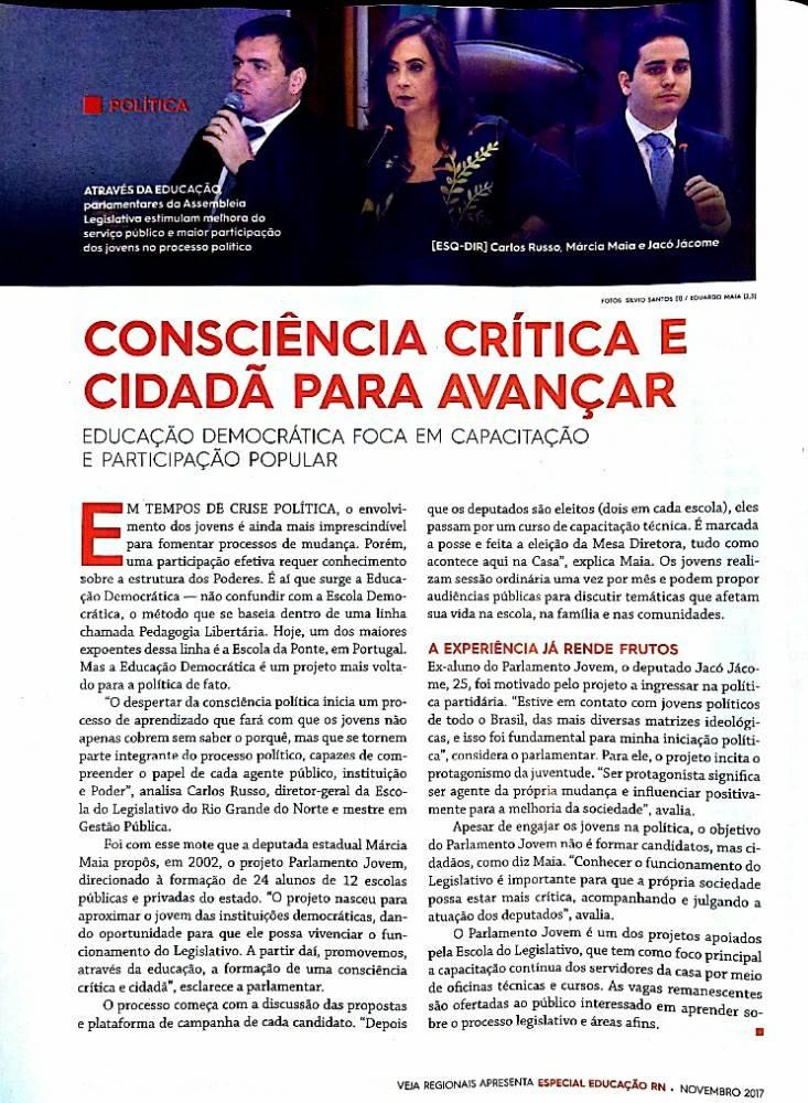 Márcia Maia Revista Veja