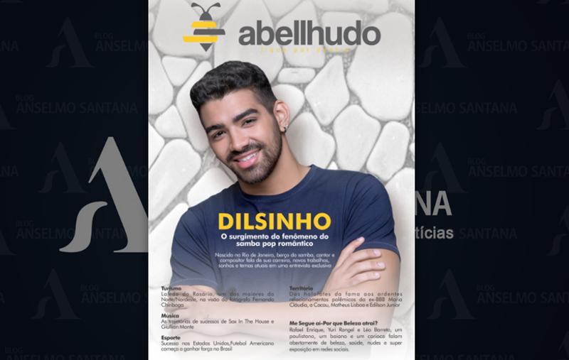 revista abellhudo.Revelação do Ano no Samba no BrasilCantor Dilsinho.Foto.Divulgação