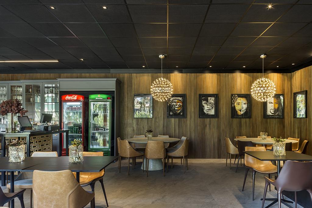 Restaurante Lugar INcomum da Casacor Brasília recebe produtos Trisoft e é eleito melhor espaço comercial da mostra  Foto de Edgard César