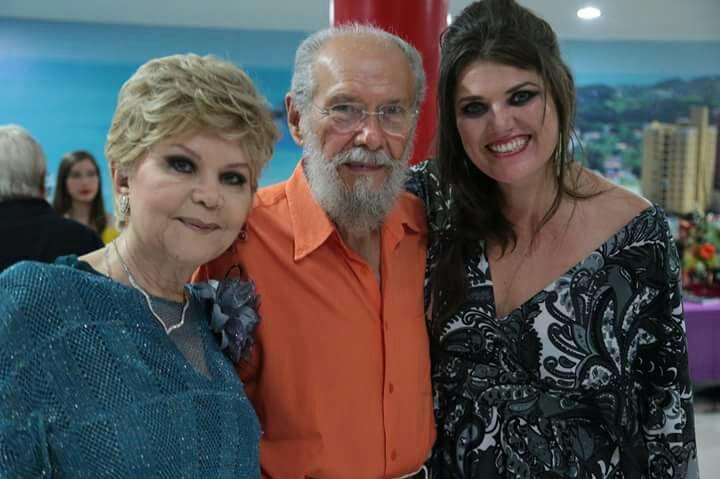 Eymar Fonseca, Airton de Fonseca Barreto e Laryssa Costa