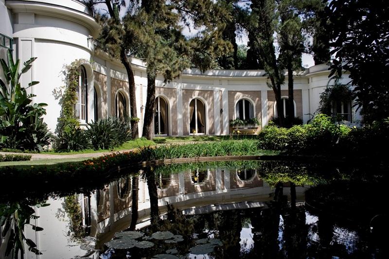 Casa-Museu Ema Klabin: aberta para visitação, a residência de 900 m² foi inspirada no Palácio de Sanssouci, em Potsdam, Alemanha e conta com valiosas obras de arte.