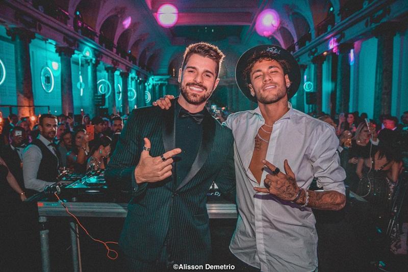 Alok e Neymar  Alisson Demetrio