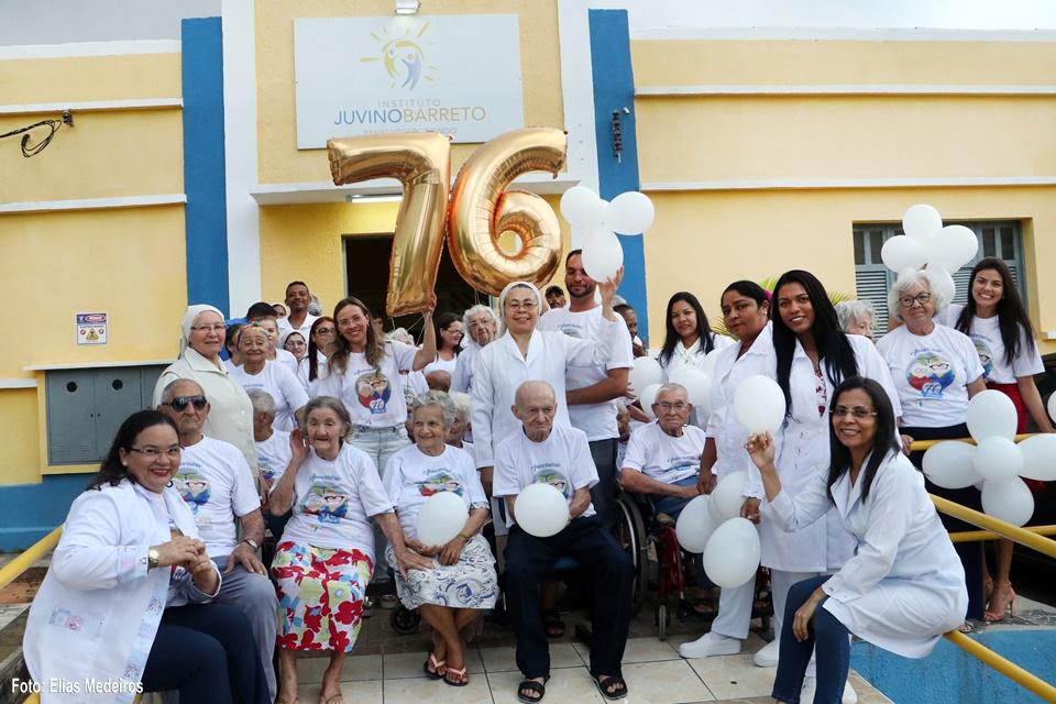 76 anos do Juvino Barreto