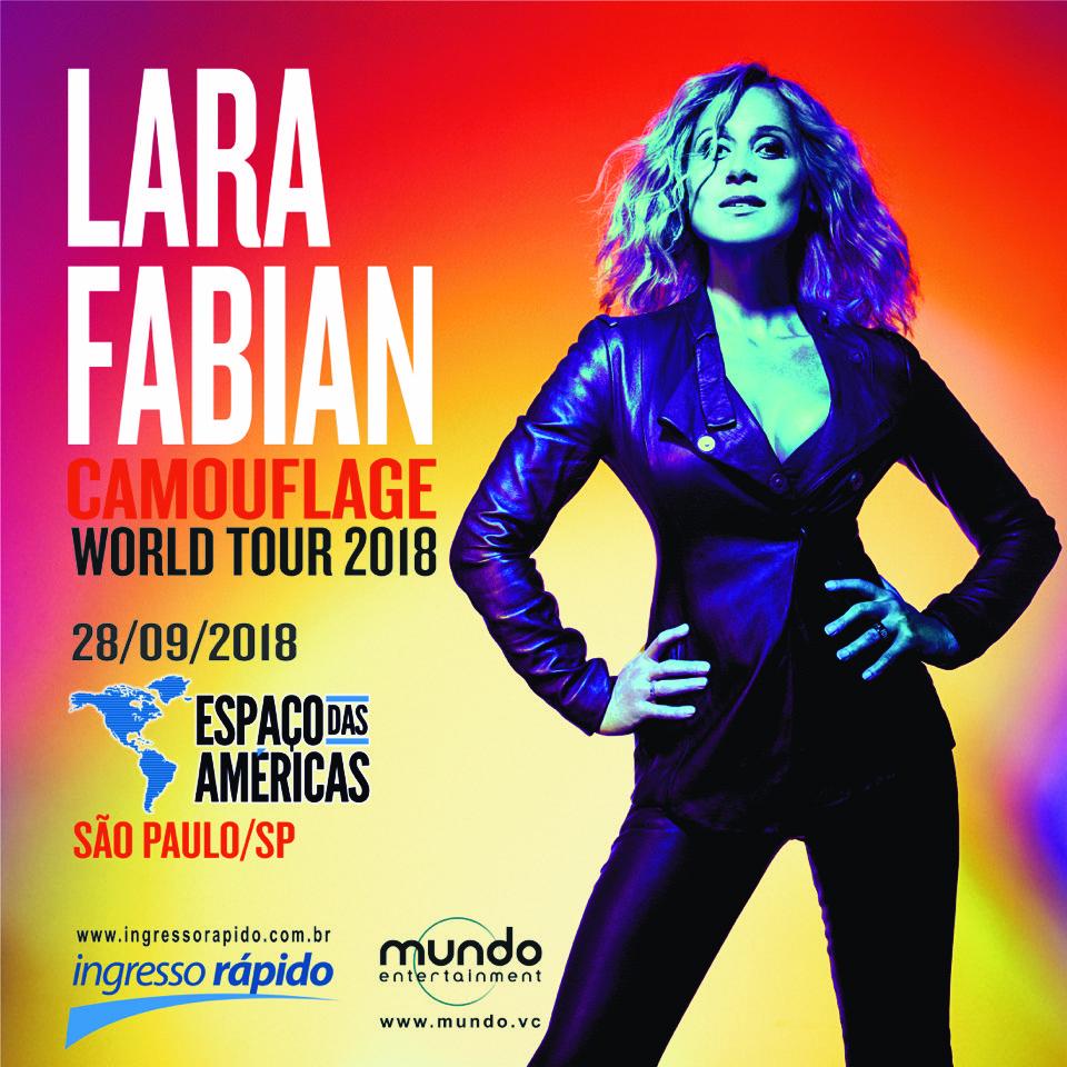 Laura Fabian no Espaço das Américas