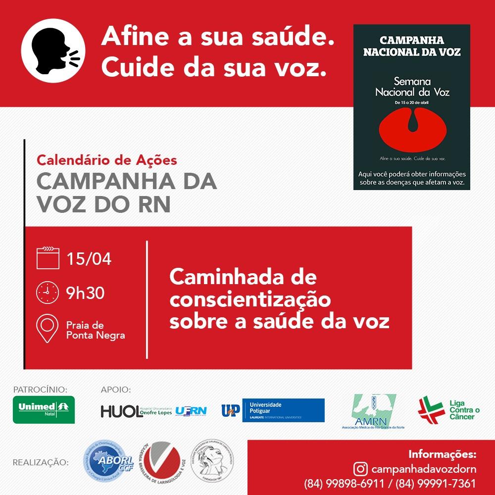 Campanha da Voz do RN - Caminhada (15.04)