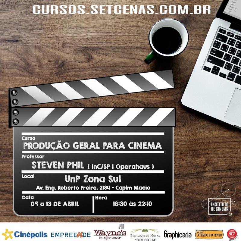 Curso - Produção Geral para Cinema