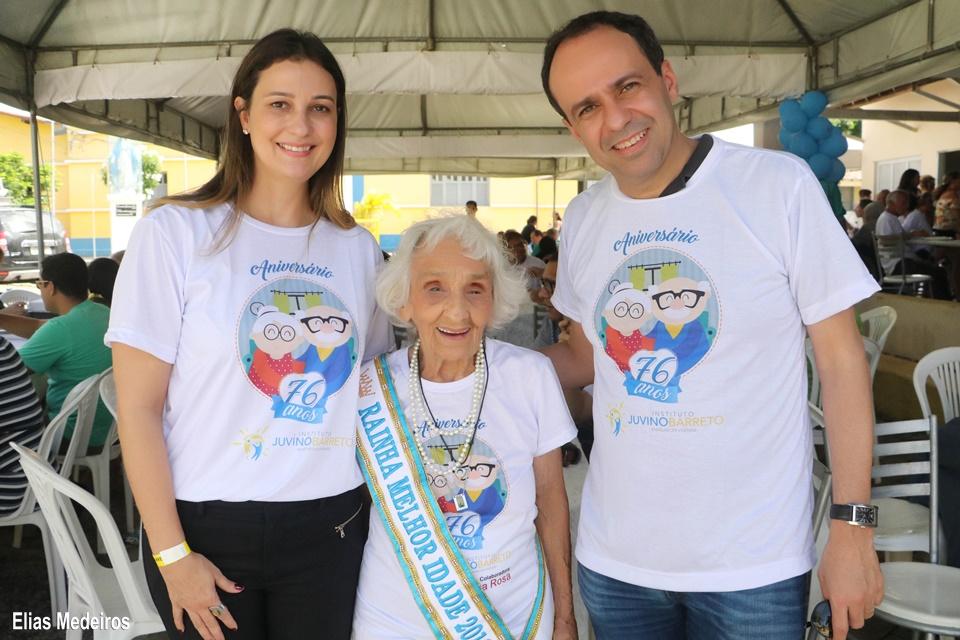 Dep. Cristiane Dantas Mariana e o vice-governador Fábio Dantas