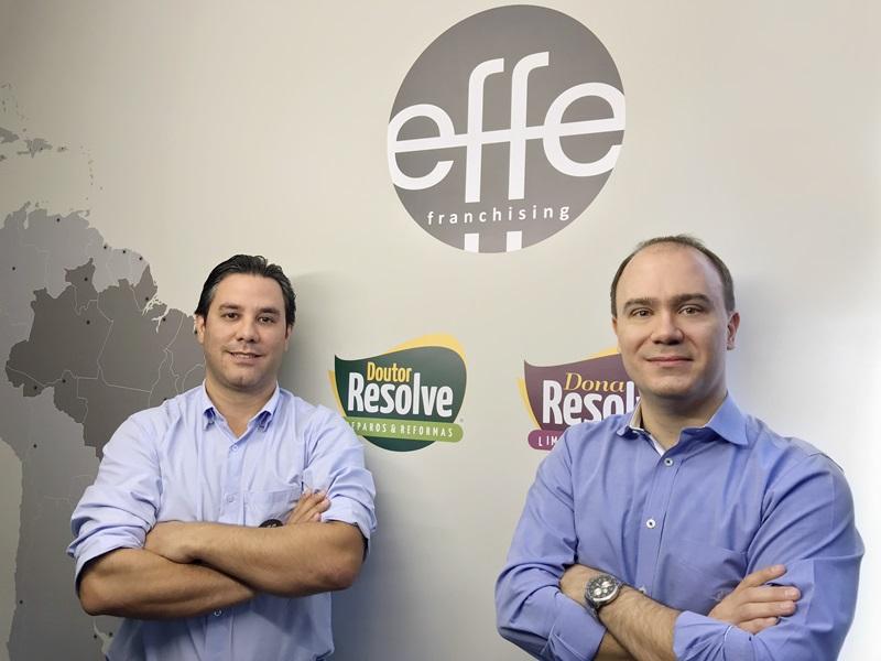 Evandro e Gustavo Recepcao