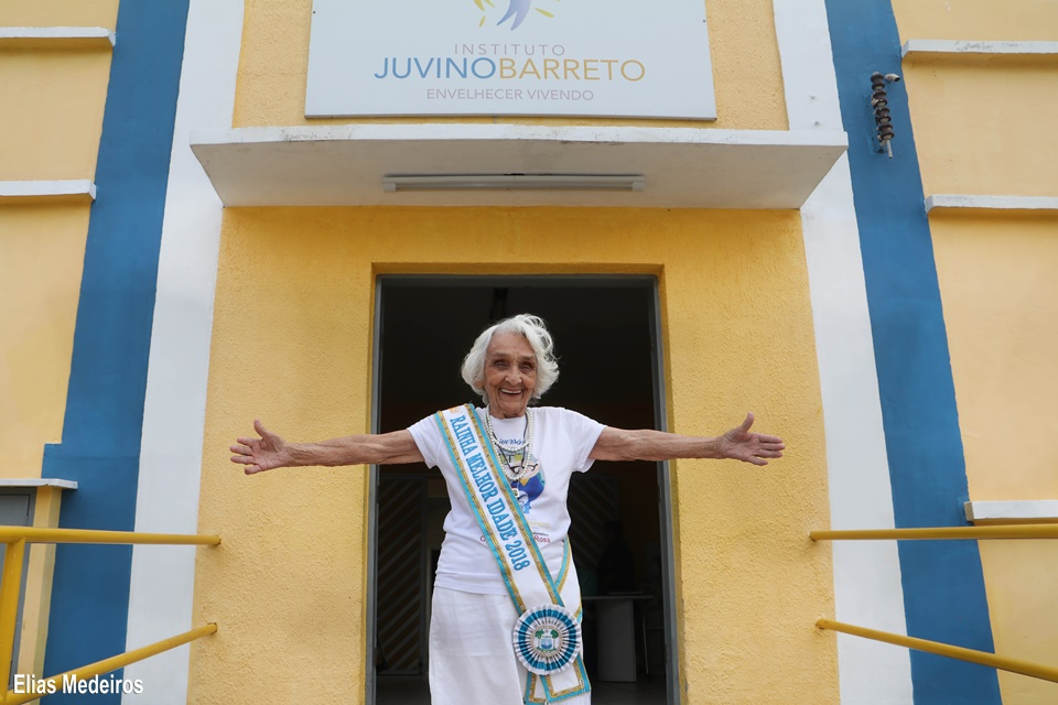 Rainha da Melhor Idade 2018 - Mariana Dantas - 96 anos