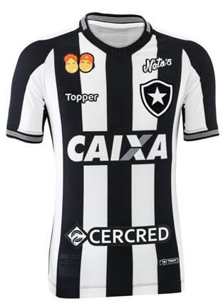Nova camisa 1 criada pela Topper exclusivamente para o Botafogo