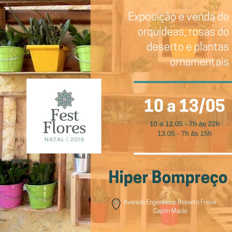 Fest Flores Natal 2018