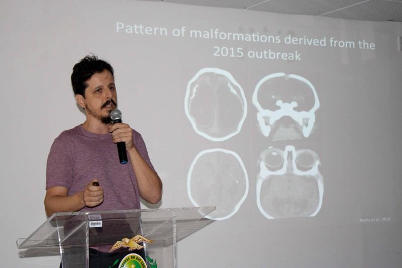 Pesquisador do ICe-UFRN, Eduardo Sequerra, investigou quando começavam as atividades elétricas no tubo neural