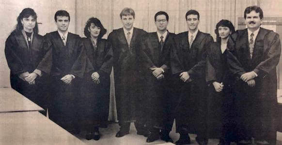 Magistrados em 1993