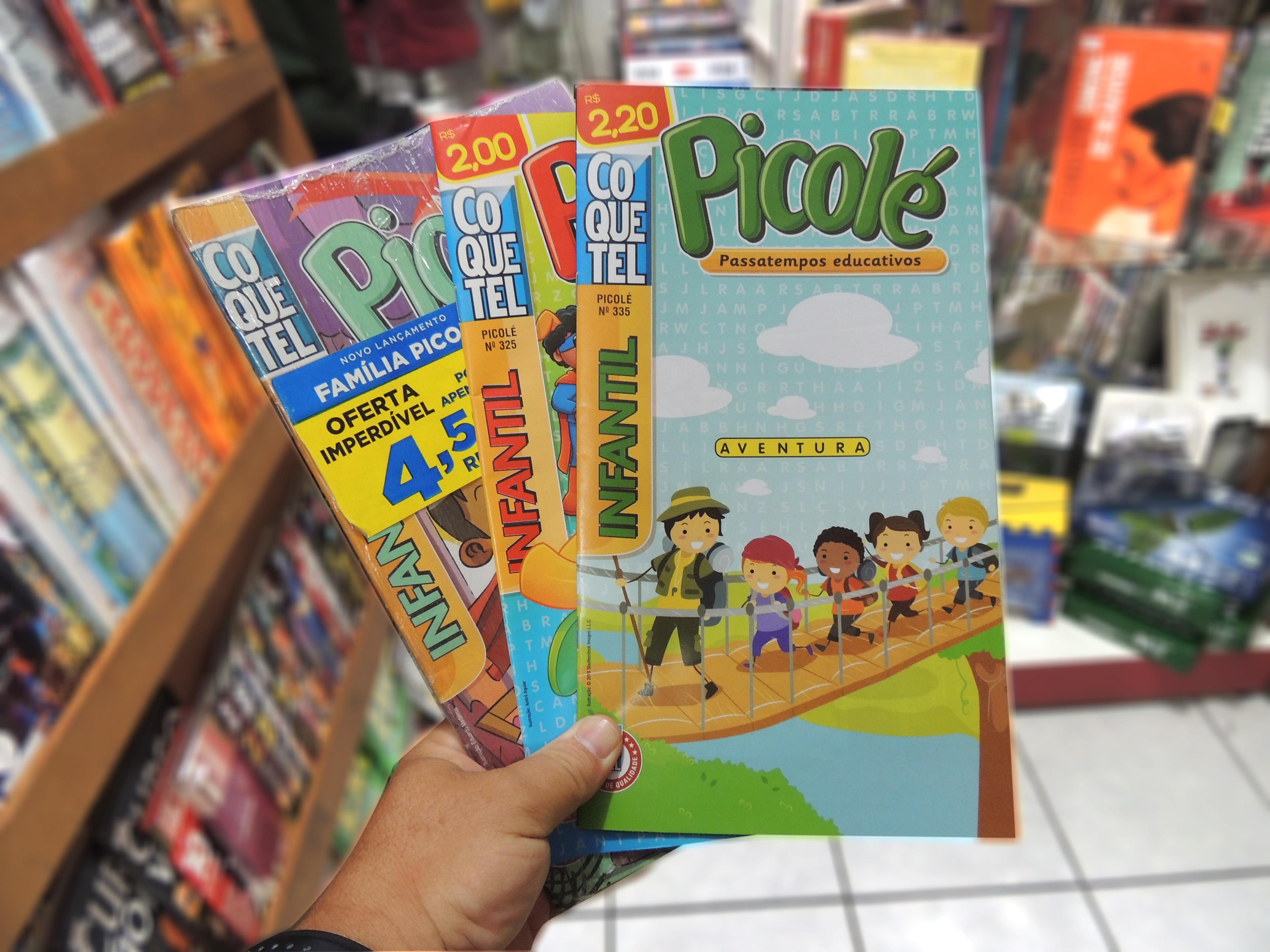 Coquetel infantil Picolé, na Revistaria Cultura tem! Se tem esse item na  lista escolar da sua criança , já sabe onde encontrar! f79f95a64d