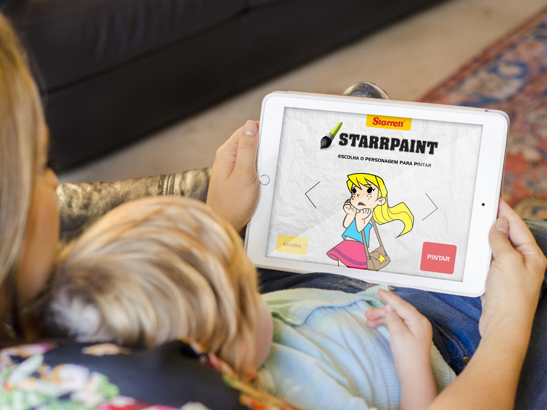 Aplicativo Para Crianças Ensina A Colorir De Forma Divertida